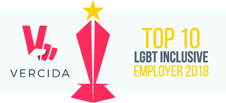 Verdica Top 10 award Logo