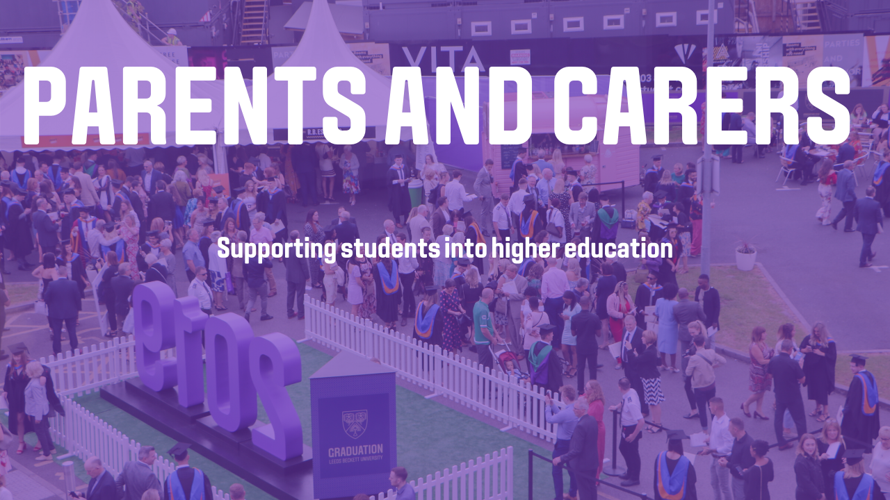 Video thumbnail of Parents and carers: supporting students into higher education