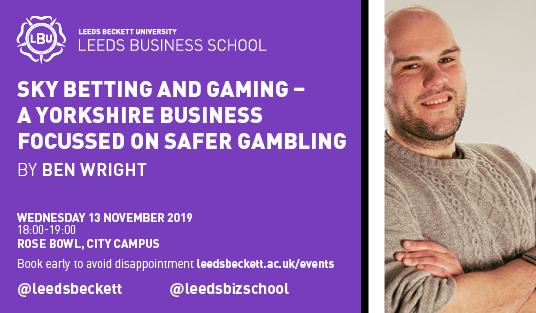 "Video thumbnail of ""Sky Betting & Gaming: A Yorkshire business focused on safer gambling"" Ben Wright"