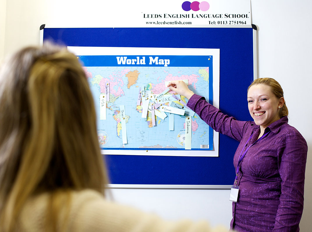 Student - World Map