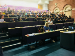 Leeds Beckett Education Focus Day lecture