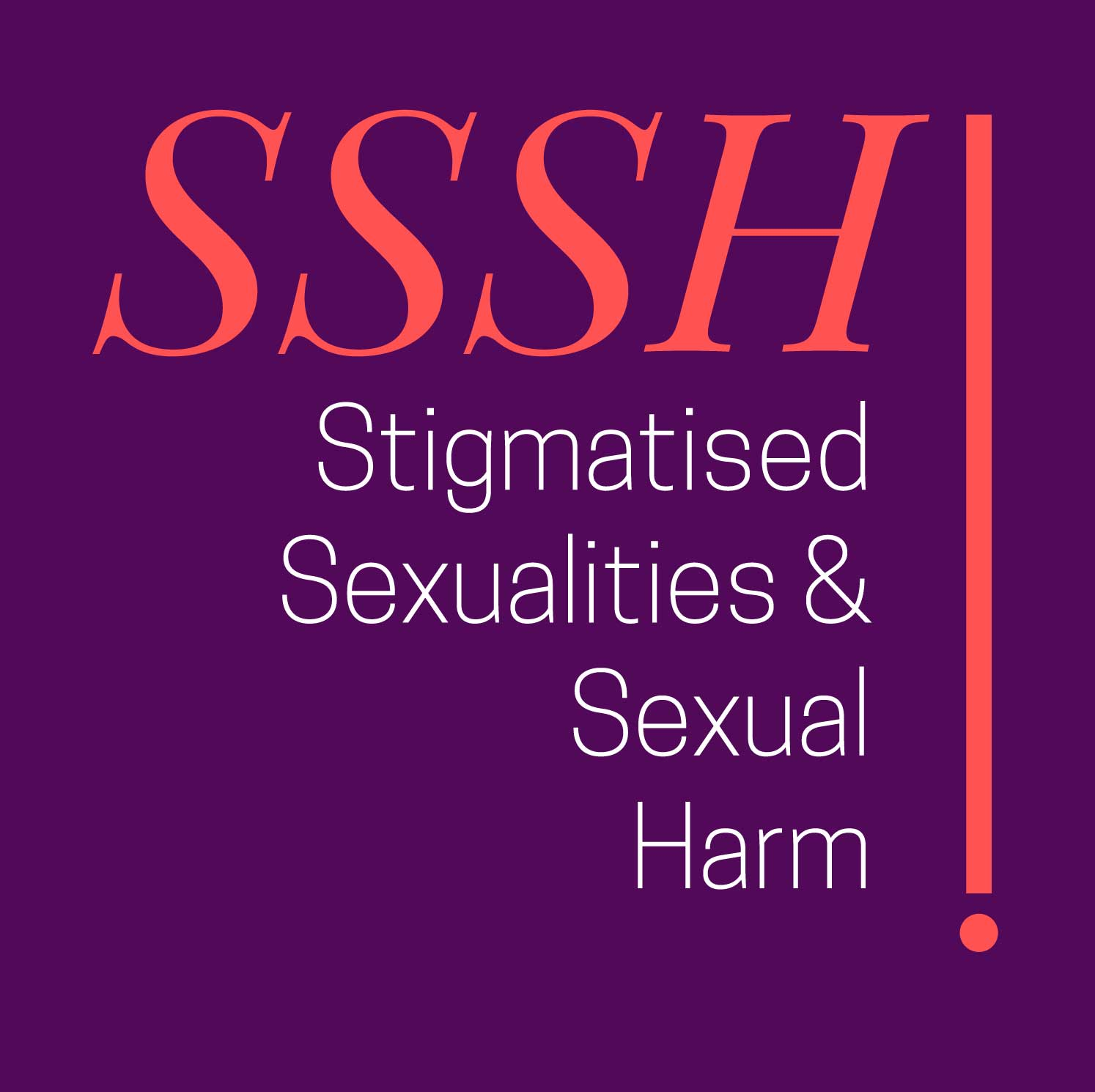 SSSH! - Stigmatised Sexualities and Sexual Harm