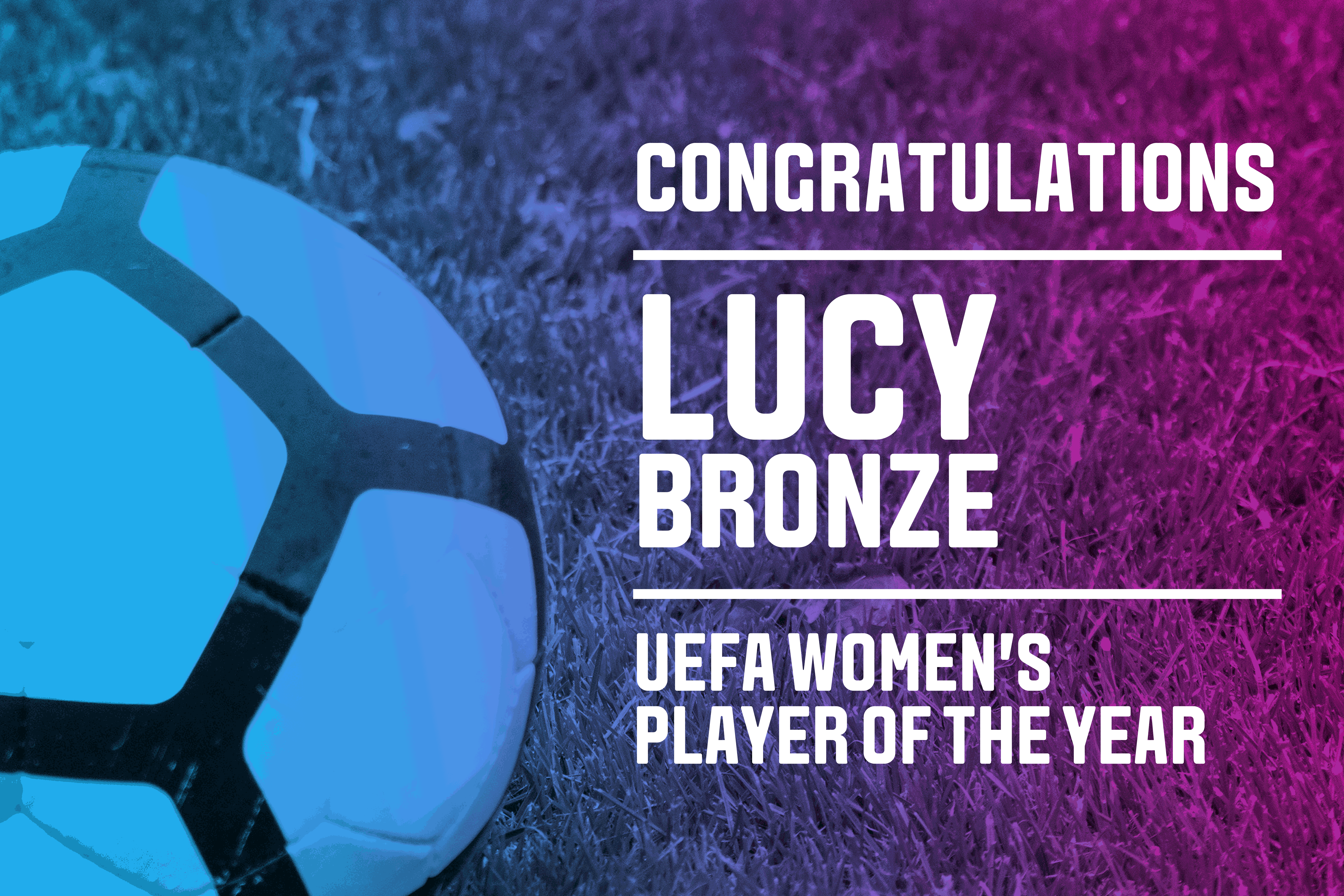 Former Leeds Beckett student named UEFA Women's Player of the Year