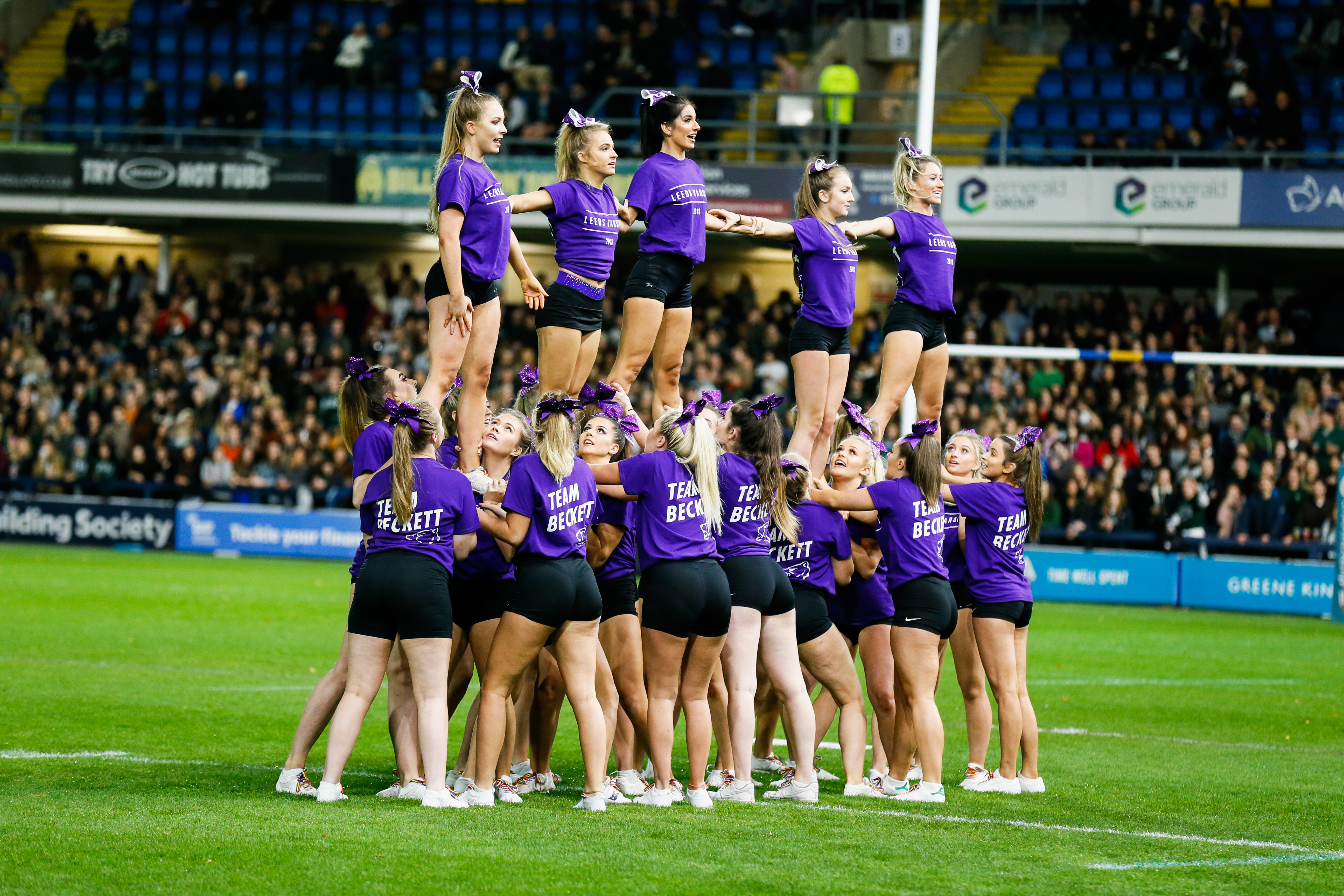 Historic Club Marks given to Leeds Beckett sports clubs