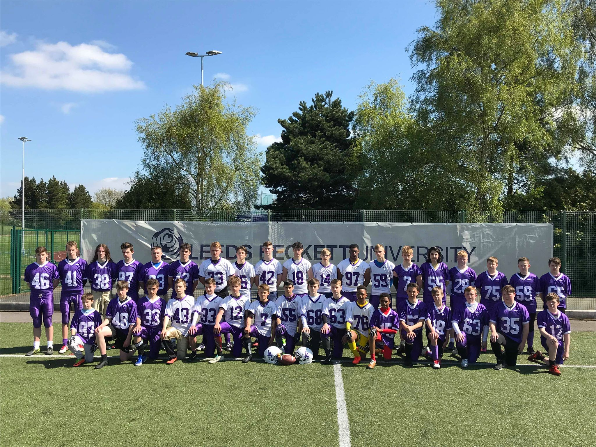 14 Leeds American Football Academy players selected for Great Britain trials