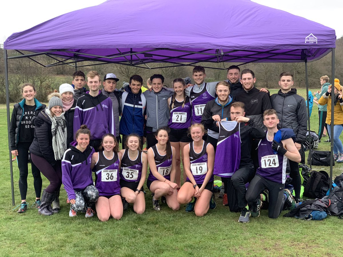 Leeds Beckett share the points in the 10th annual Leeds Varsity Cross Country