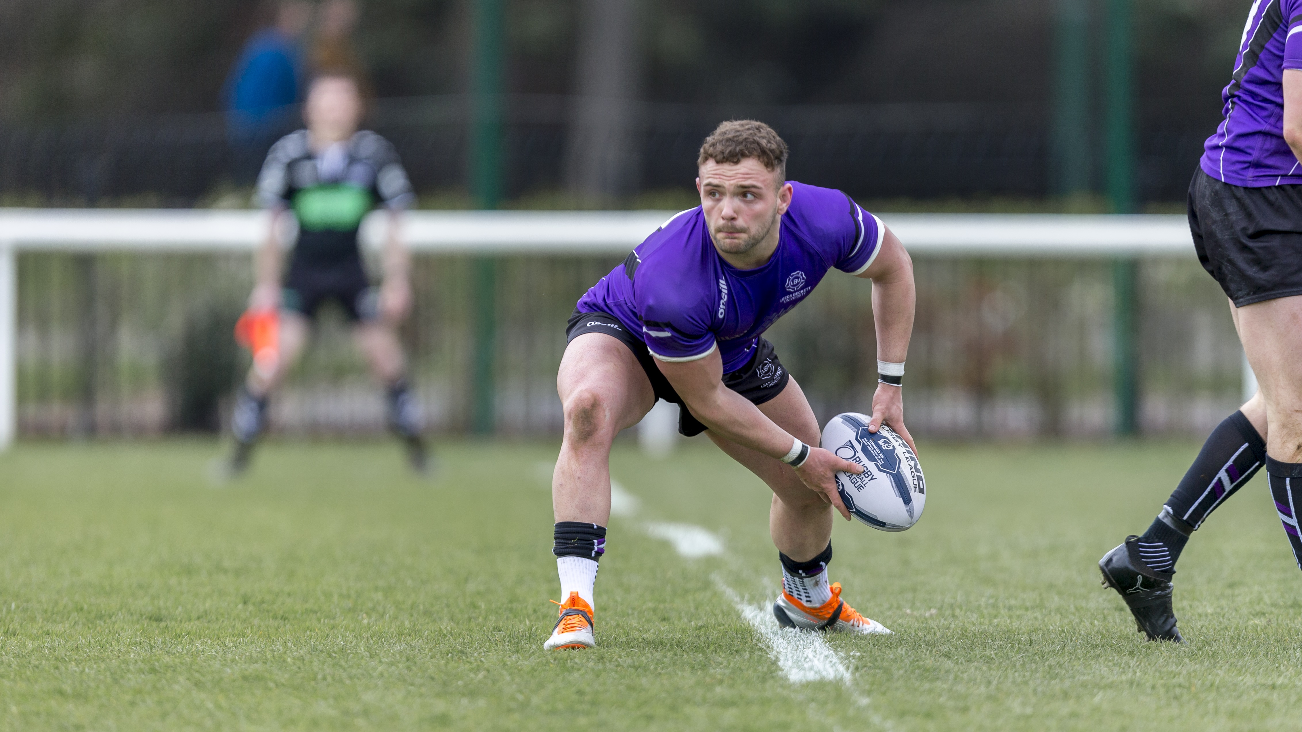 Curtis Davies (pictured) will be one of four current Leeds Beckett University students to play in the rugby league challenge cup semi final