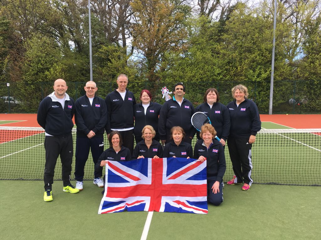 Leeds Beckett coach guides GB Blind and Visually Impaired Tennis to Gold in 2018 World Championships