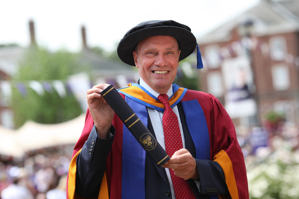 Former Leeds Beckett Director of Sport receives UK Coaching Lifetime Achievement Award