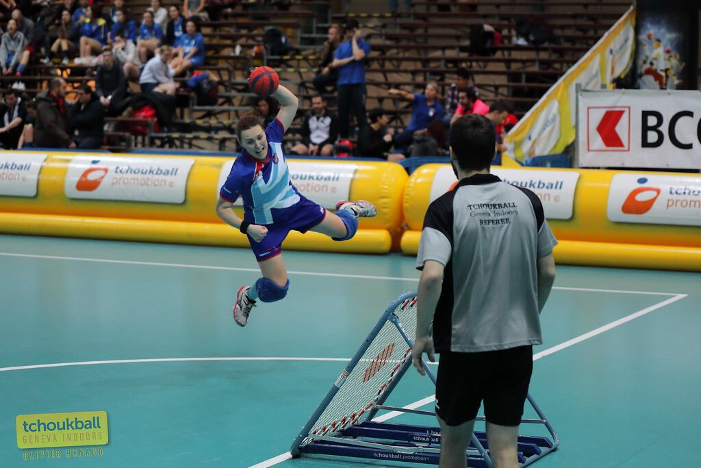 Four Beckett representatives selected for European Tchoukball Championships