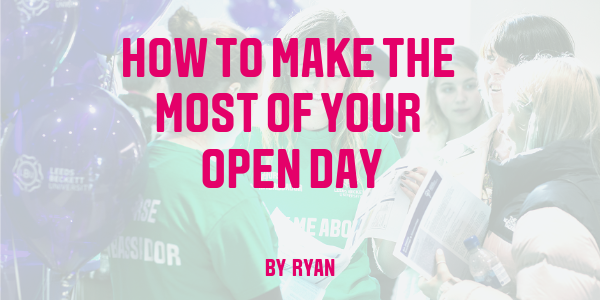 Making the most of your Open Day