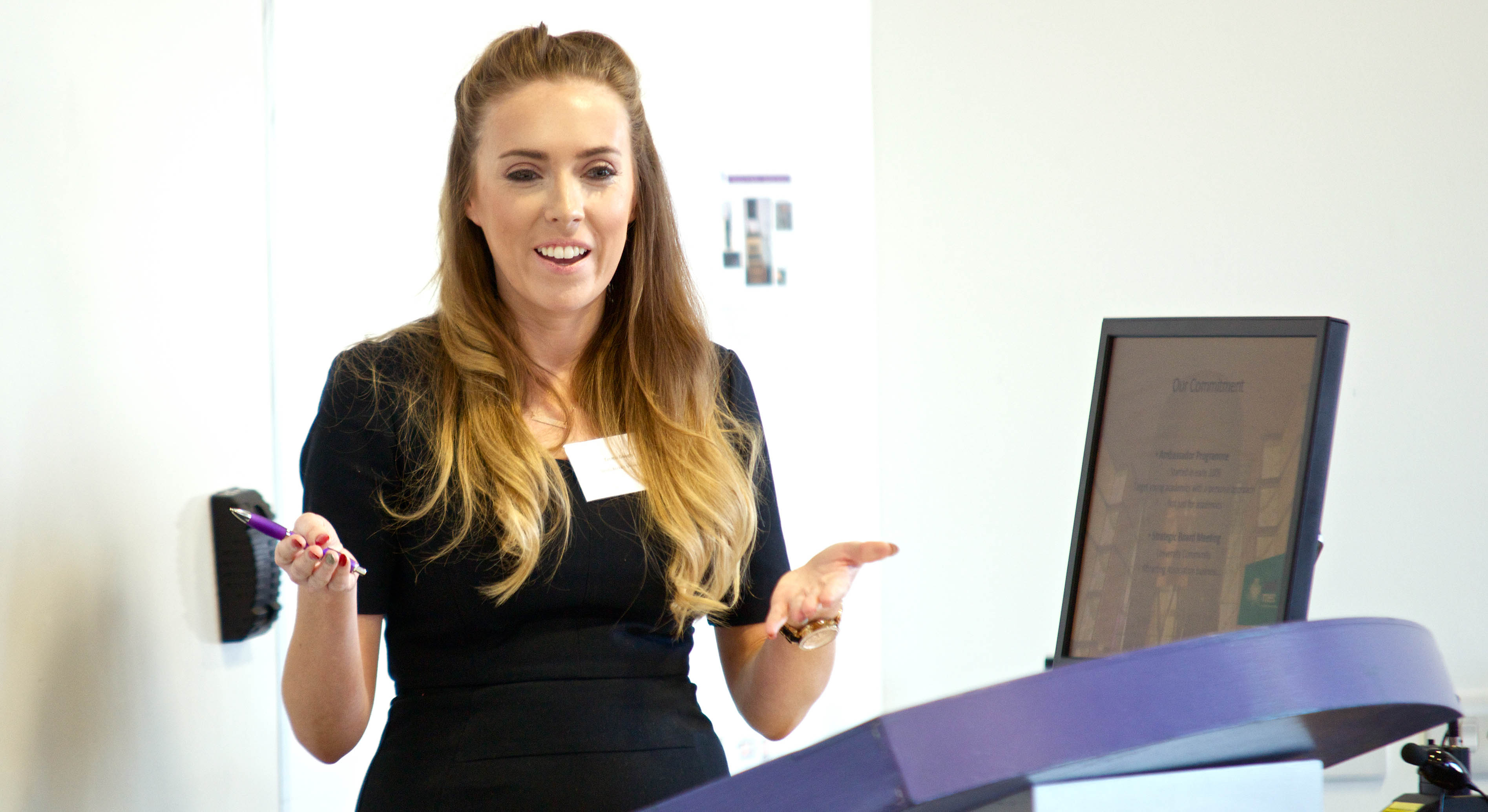 Emma Gough, Well Met Conference Host