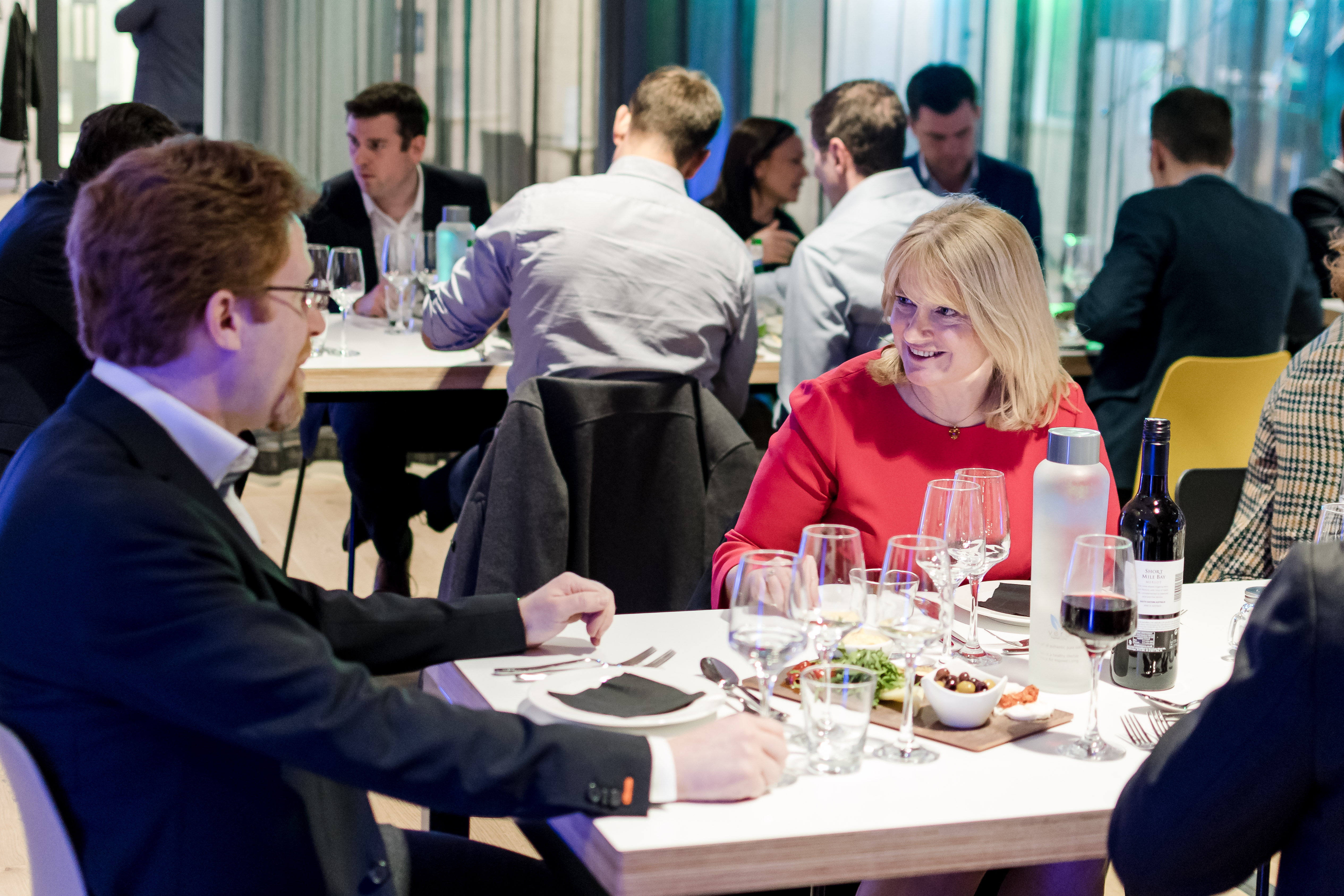 Dinner is served Cloth Hall Court hosts first dinner with FinTech North
