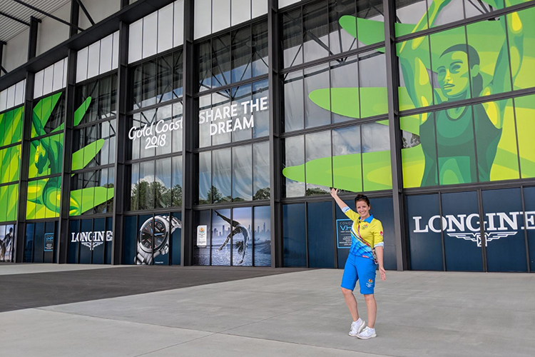 Beckett graduate Front of House at Commonwealth Games