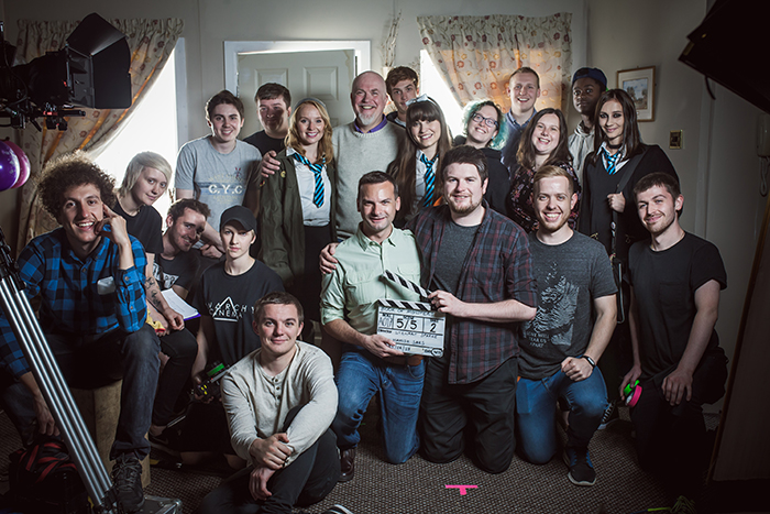 Film students and staff collaborate to unleash Book of Monsters