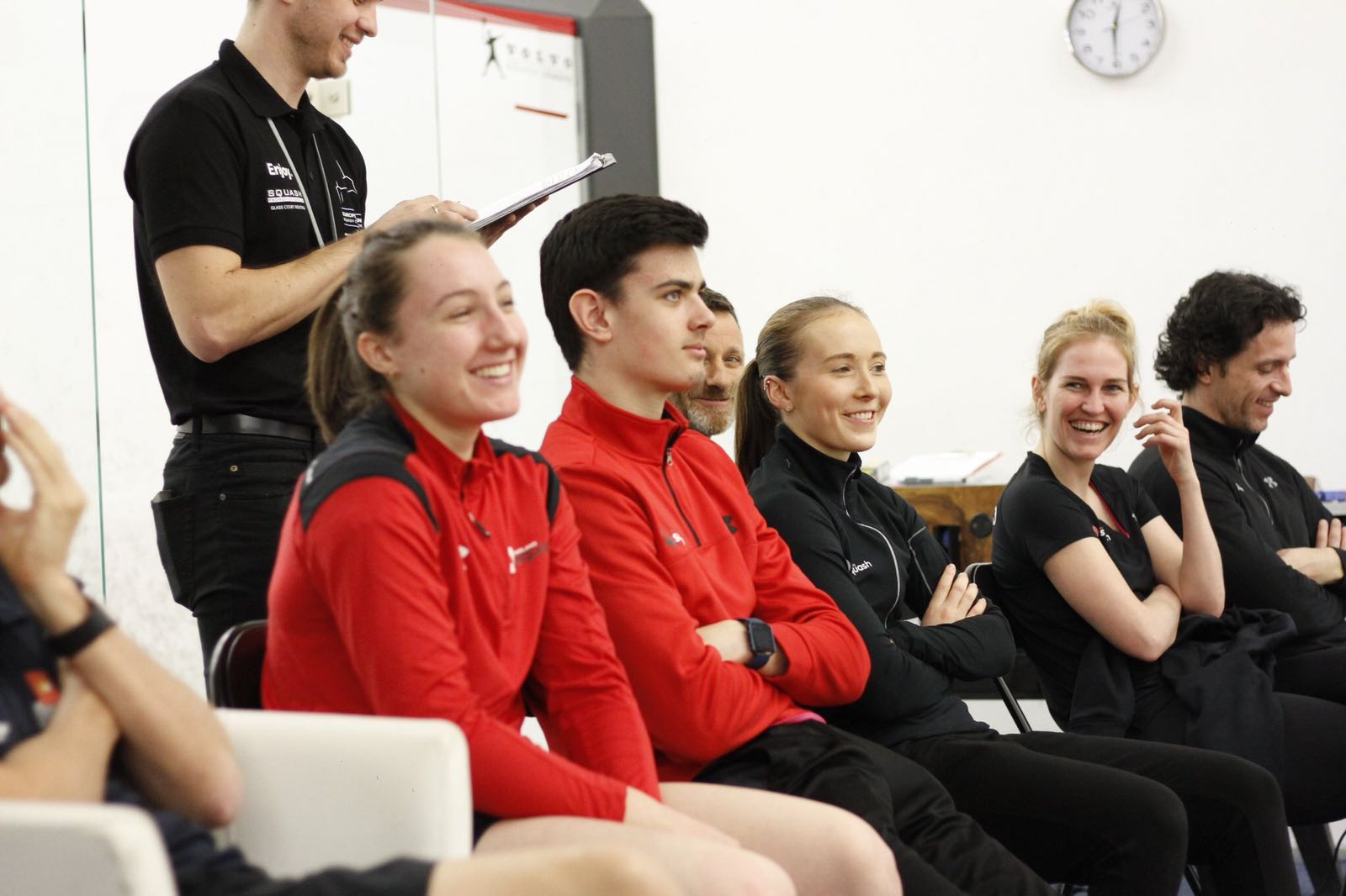 Leeds Beckett Squash coach leads England Squash Under 19s to European glory