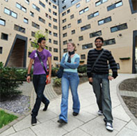 Students at accommodation