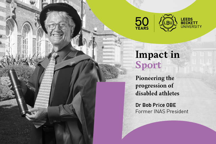 Impact in Sport: Pioneering the progression of disabled athletes, Dr Bob Price OBE