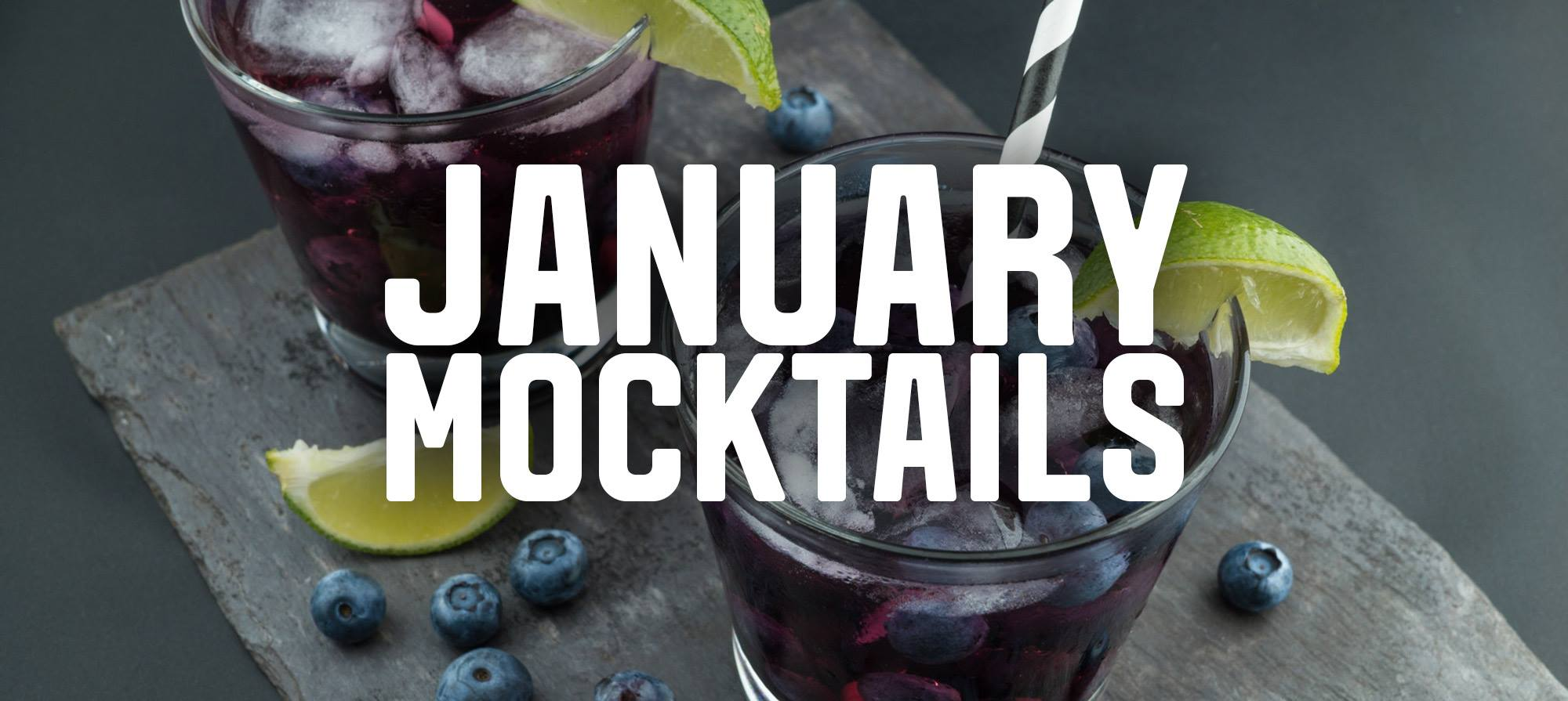 Mocktails To Help With That January Recovery