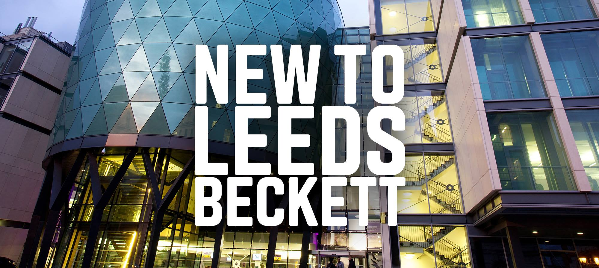 New to Leeds Beckett this January?