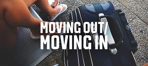 Moving out/Moving in