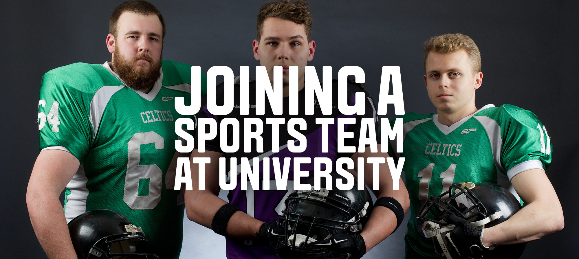 Joining a sports team at university