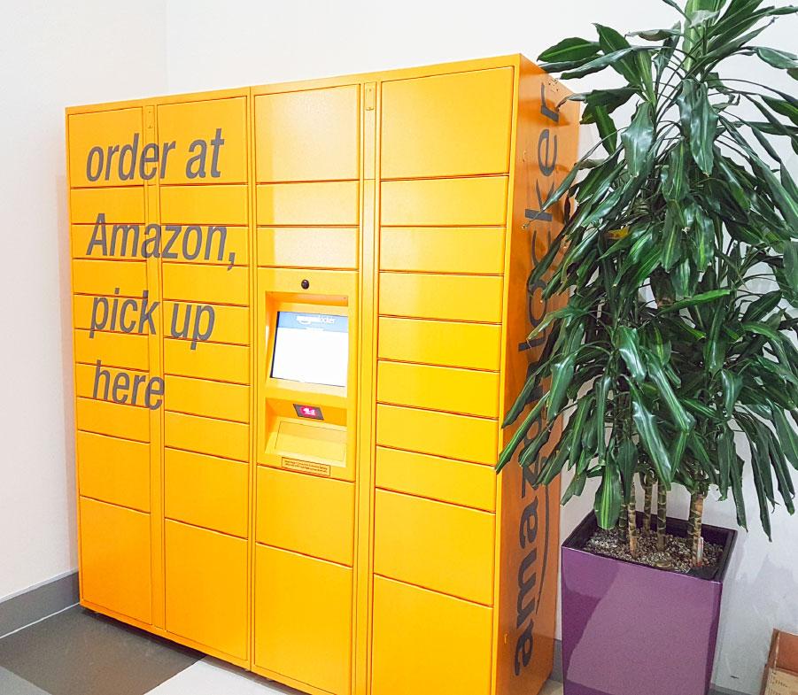 new amazon lockers at city campus blogs leeds beckett university. Black Bedroom Furniture Sets. Home Design Ideas