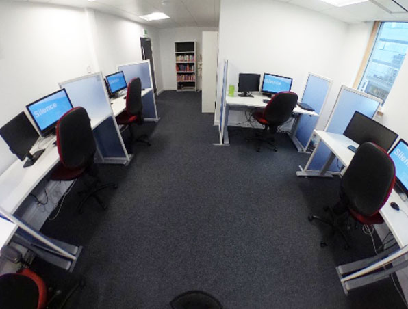 Photo of Disability Resource Area taken from 360 degree tour