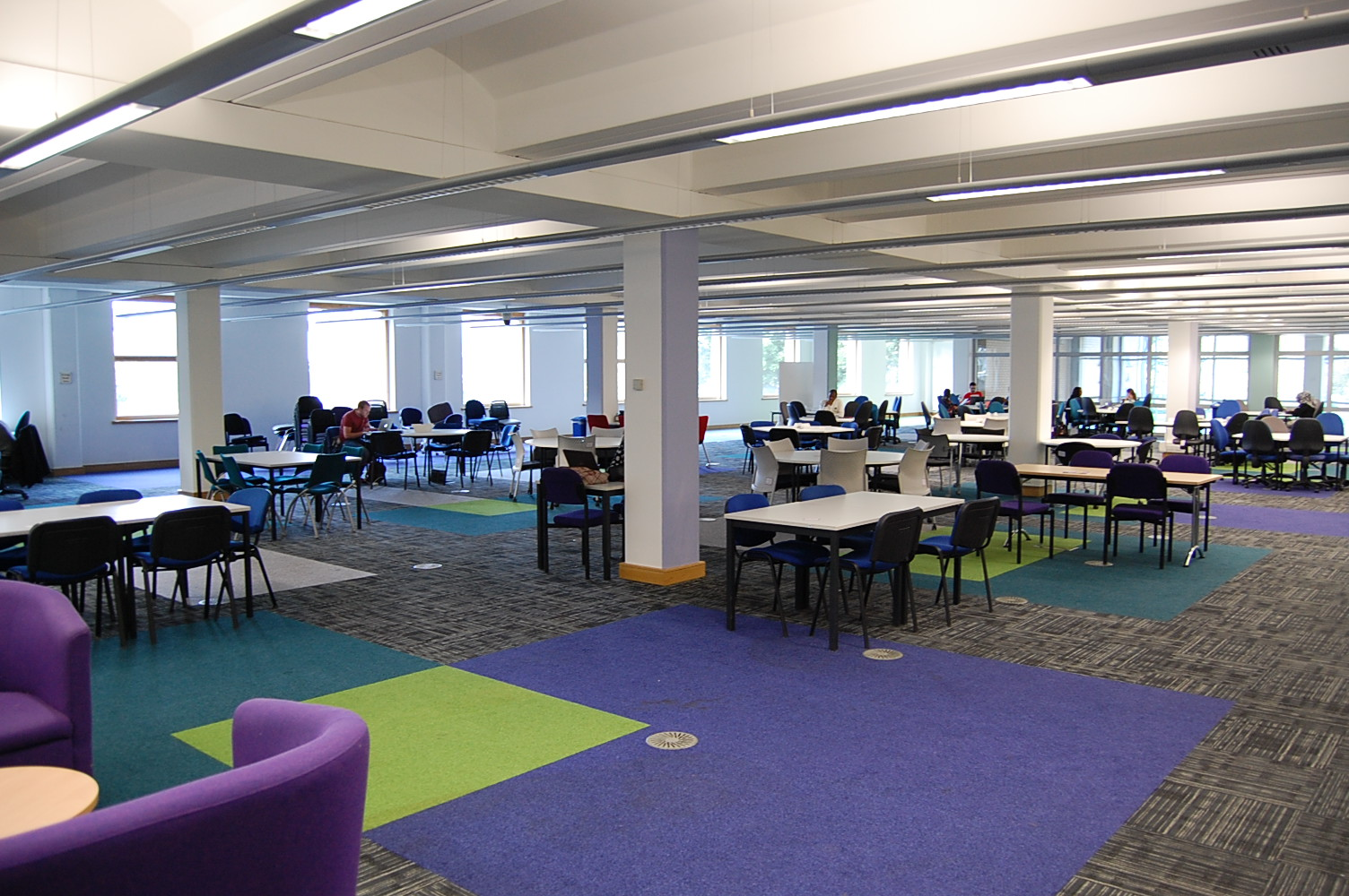 The Sheila Silver Library refurb continues