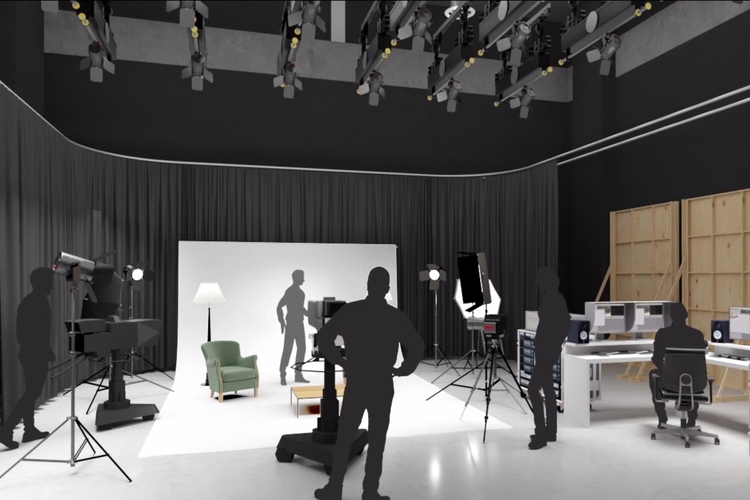 Creative Arts TV studio