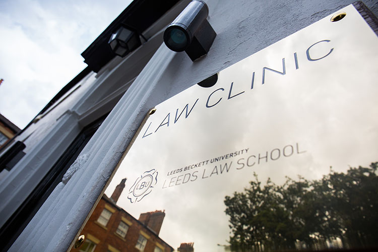 Students put their learning into practice delivering free legal advice clinics