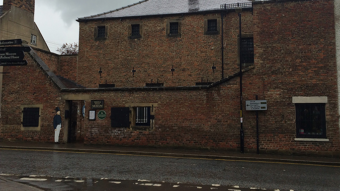 Exterior of the Ripon Prison and Police Museum