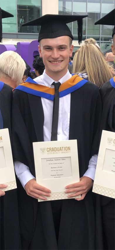 From Physical Education student to postgraduate research student
