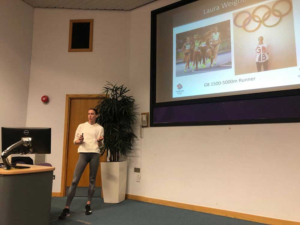 Students gain insight into the practical application of sport and exercise nutrition in elite sport