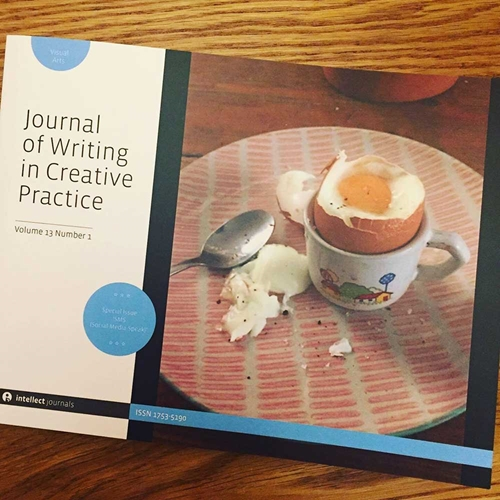 Journal of Writing in Creative Practice cover