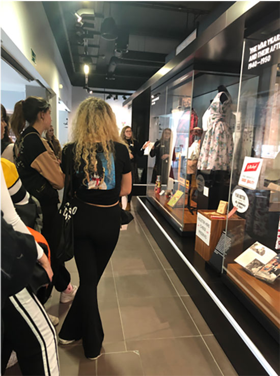 Fashion Marketing students explore the Marks and Spencer Company Archive