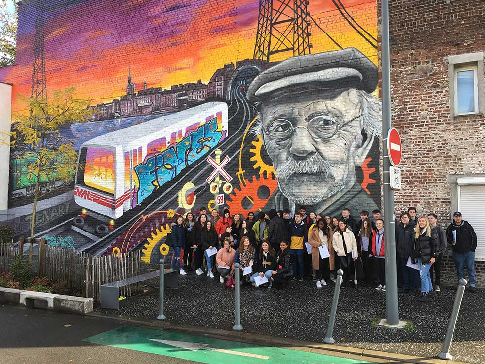 Human Geography and Planning Students Study Visit to Lille