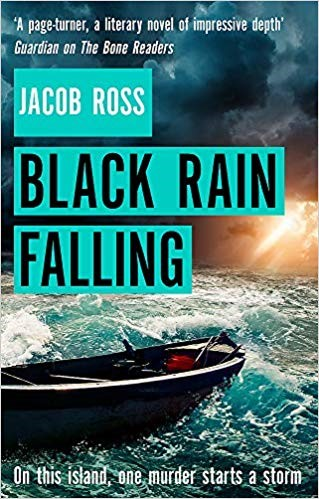 Cover of 'Black Rain Falling'