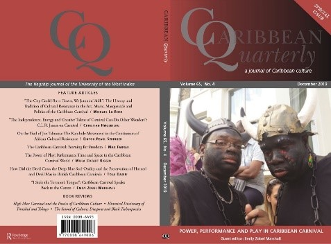 Caribbean quarterly book which Emily edited