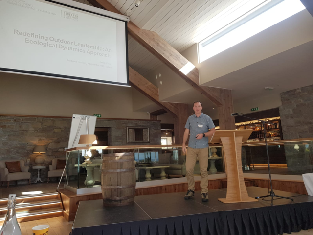 ICRETH PhD researcher presents at Adventure Tourism Research Association