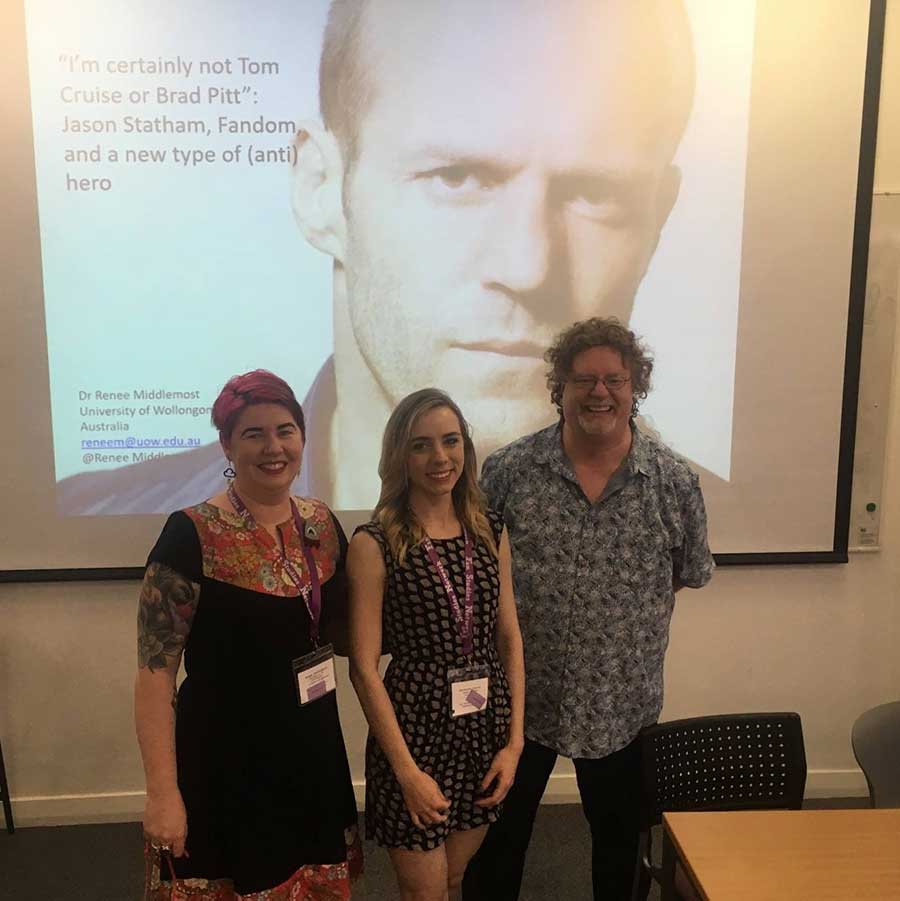 Left to Right: Dr Renee Middlemost, Natasha Parcei and Dr Steven Gerrard