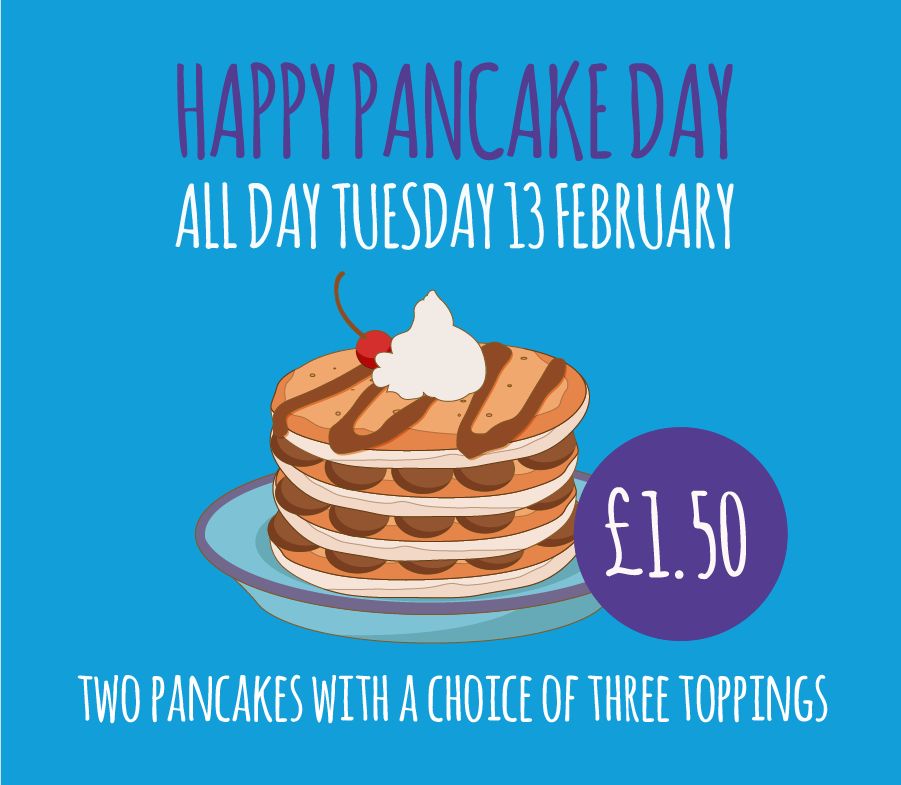 Dont flip out this Pancake Day