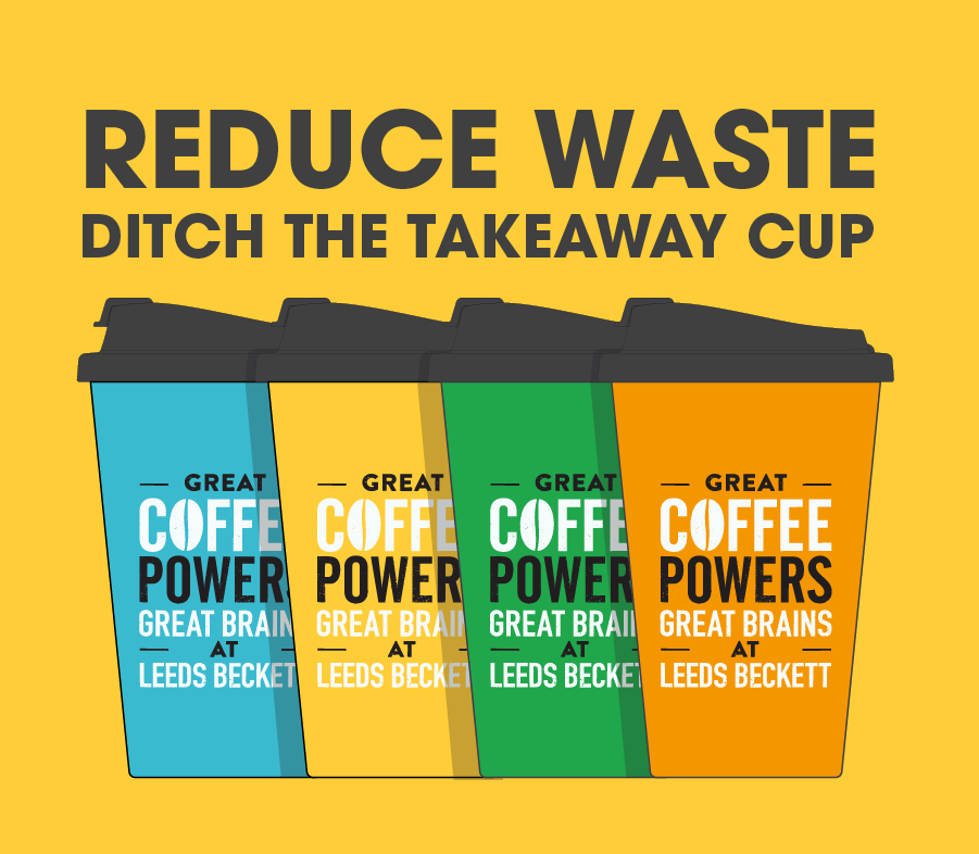 Use your reusable cup for a chance to win a week of free hot drinks