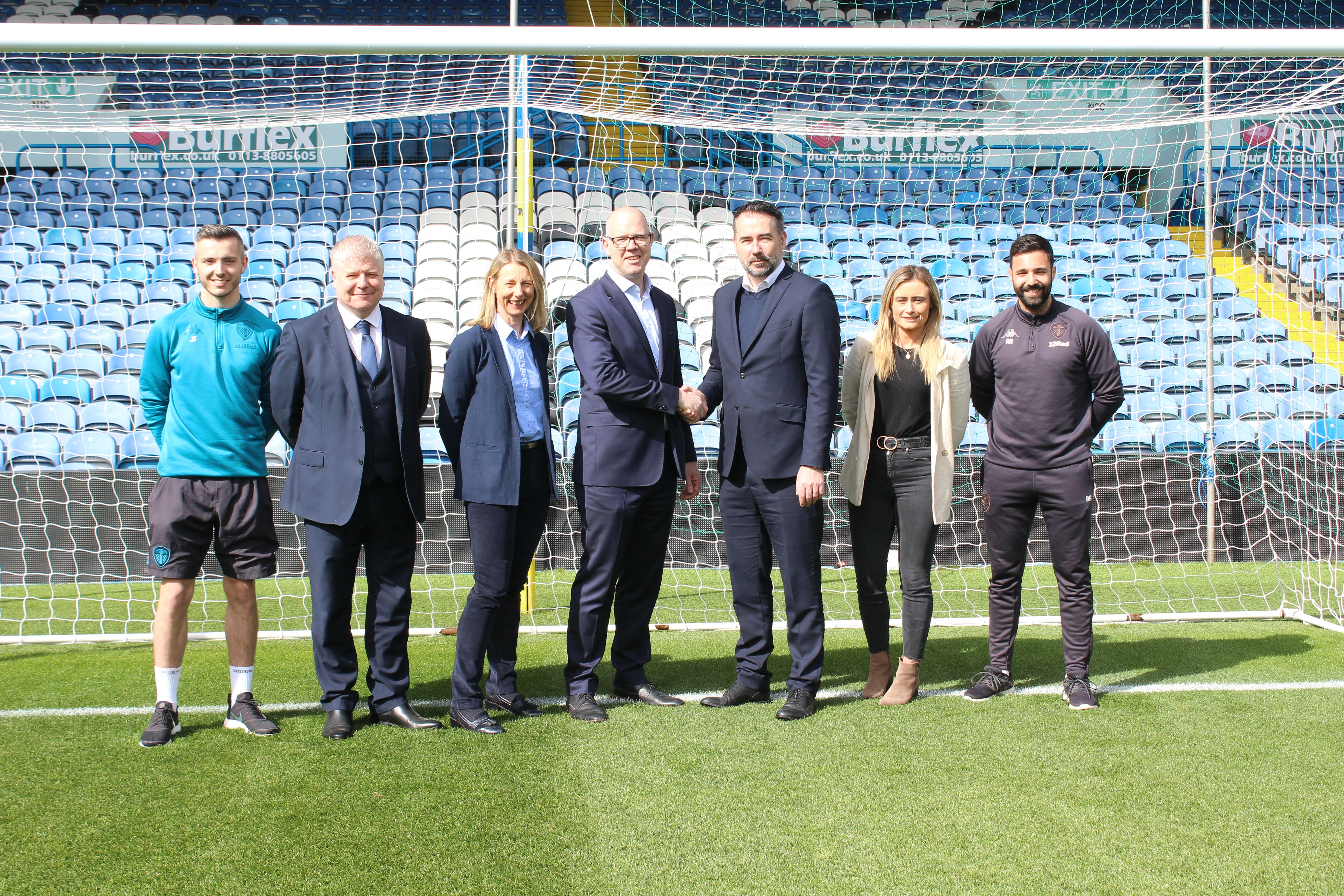 Leeds Beckett University provide coaching and nutrition support for Leeds United FC