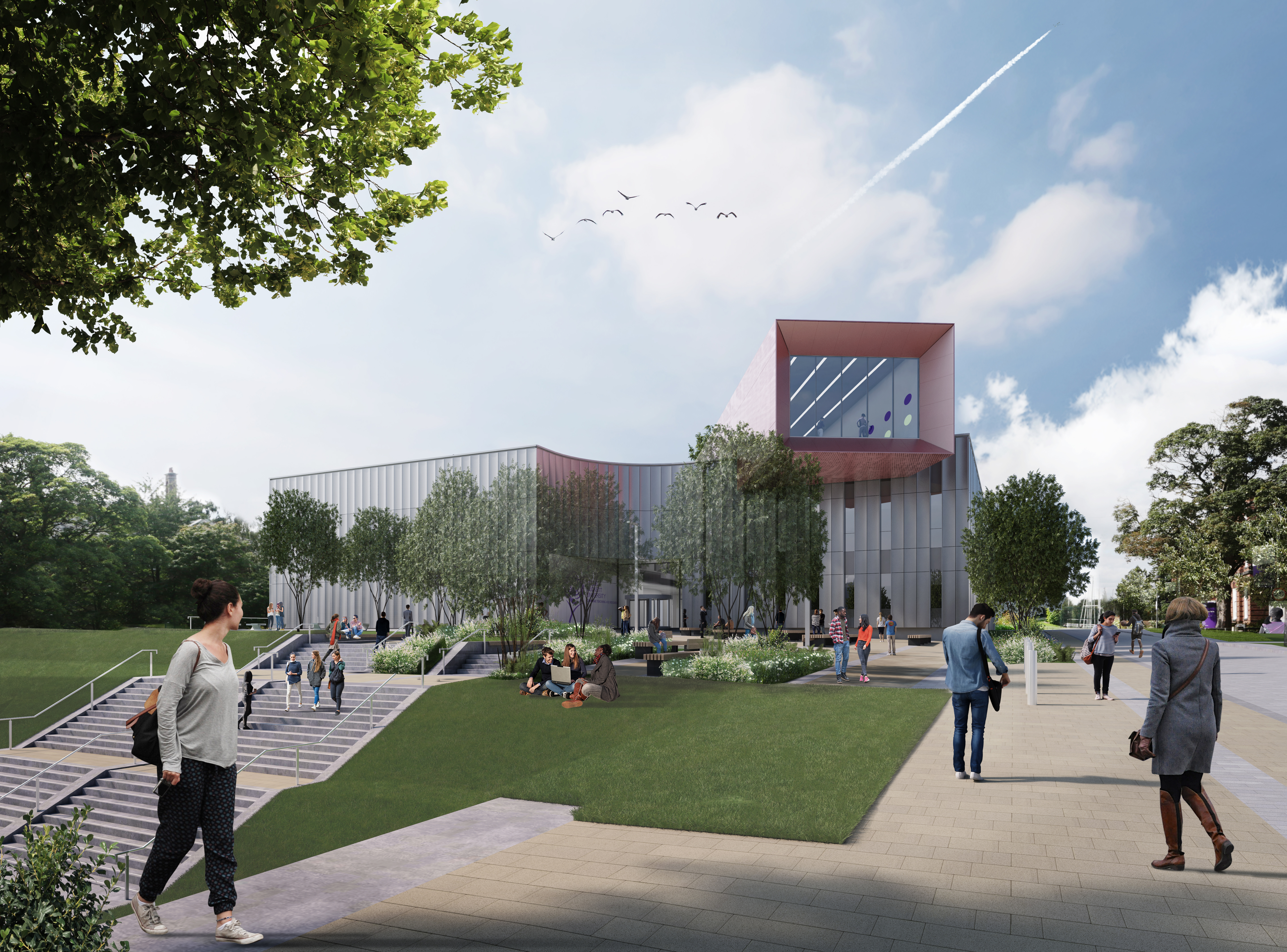 Artist Impression Carnegie Teaching and Research Building