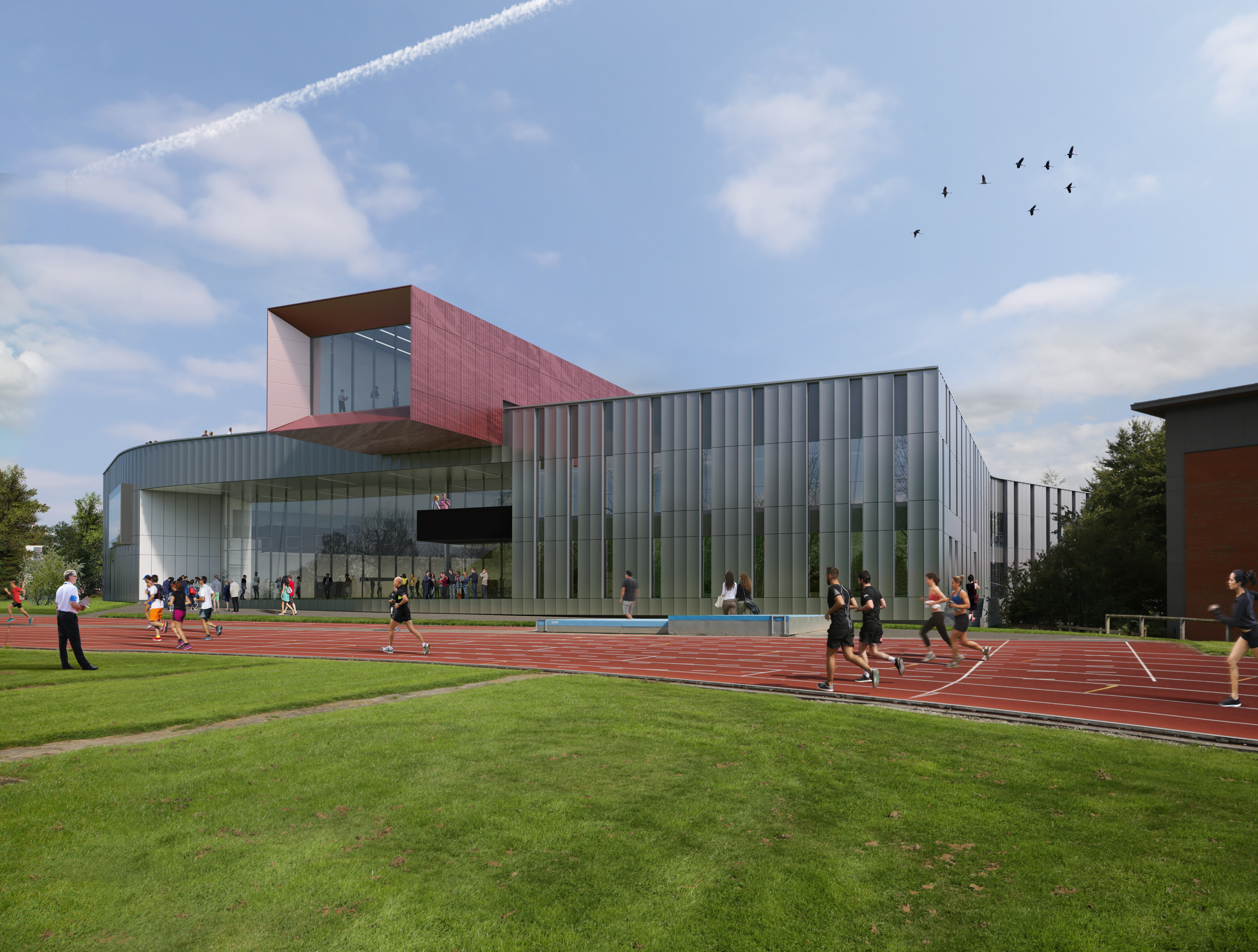 artists impression Carnegie Teaching and Research Building