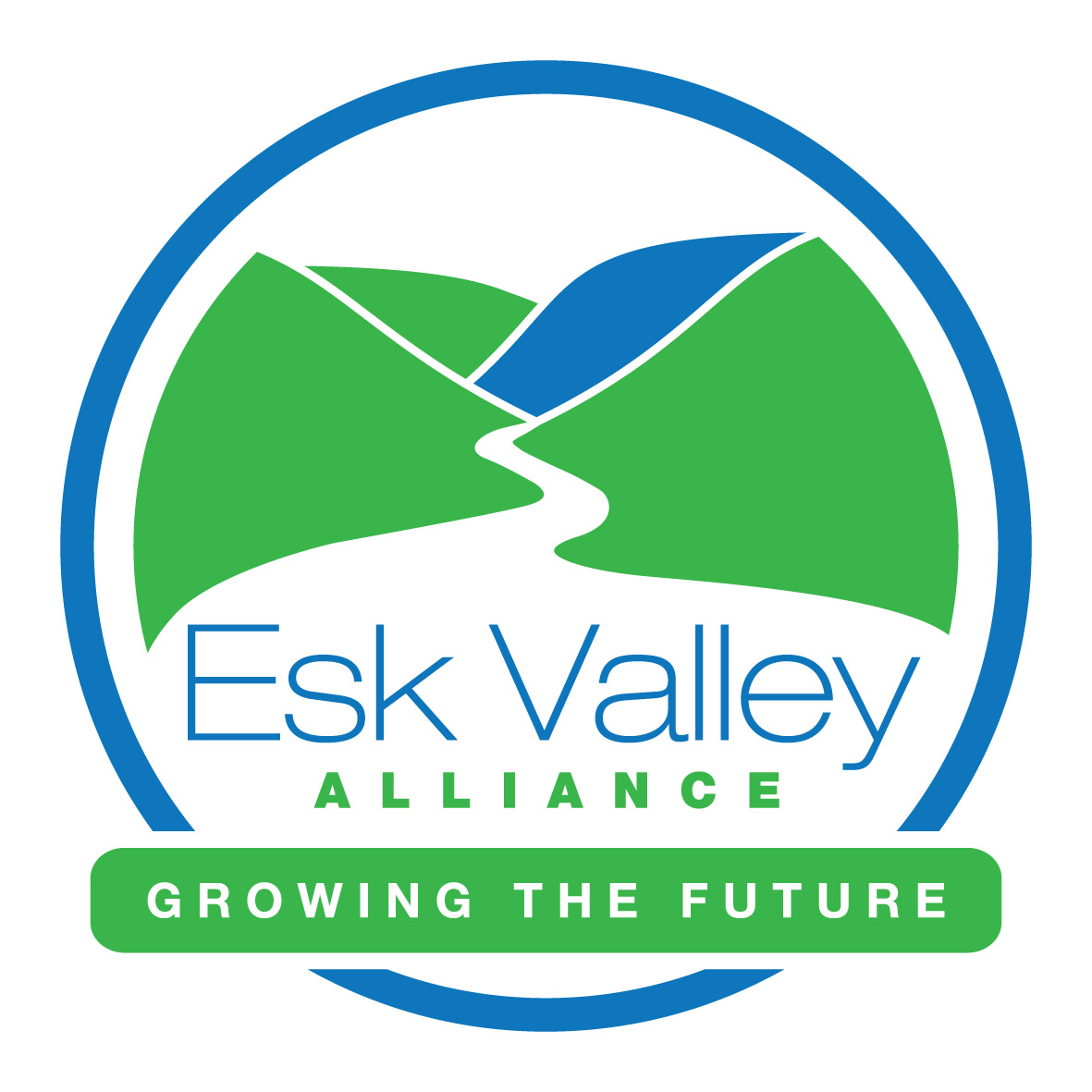 ESK Valley Alliance Logo - growing the future