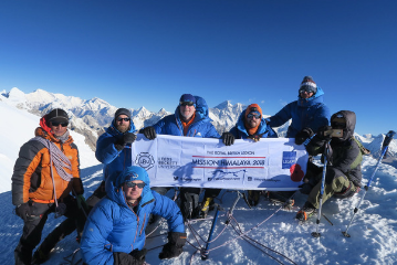 Overseas mountaineering expeditions