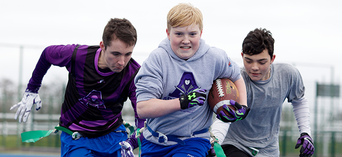 NFL UK and Leeds Beckett team up to promote American Football