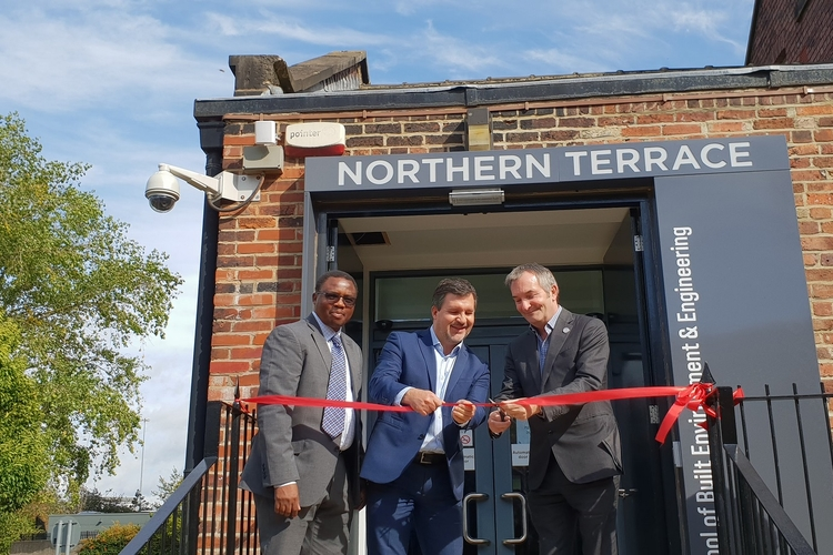 Official opening of new Northern Terrace reception